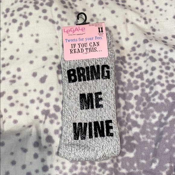 3 for $30 If You Can Read This Bring Me Wine Socks